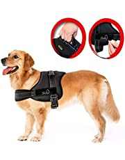 LIFEPUL TM No Pull Dog Vest Harness - Dog Body Padded Vest - Comfort Control for Large Dogs in Training Walking - No More Pulling, Tugging or Choking