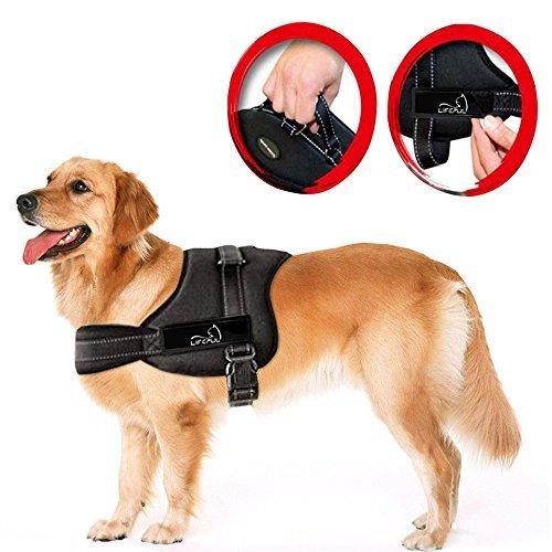 Lifepul(TM) No Pull Dog Vest Harness - Dog Body Padded Vest - Comfort...
