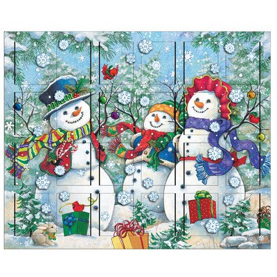 - Byers' Choice Snowman Advent Calendar