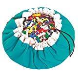 Play&Go Large Children Drawstring Play Mat and Toy Organizer Storage 55