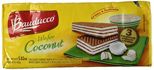 Wafer Cookies Coconut - Bauducco, Cookie, Wafer, Coconut, 5.82 Oz