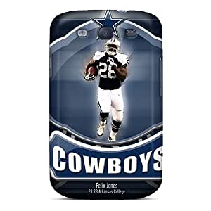 Galaxy S3 Case Cover - Slim Fit Tpu Protector Shock Absorbent Case (dallas Cowboys)