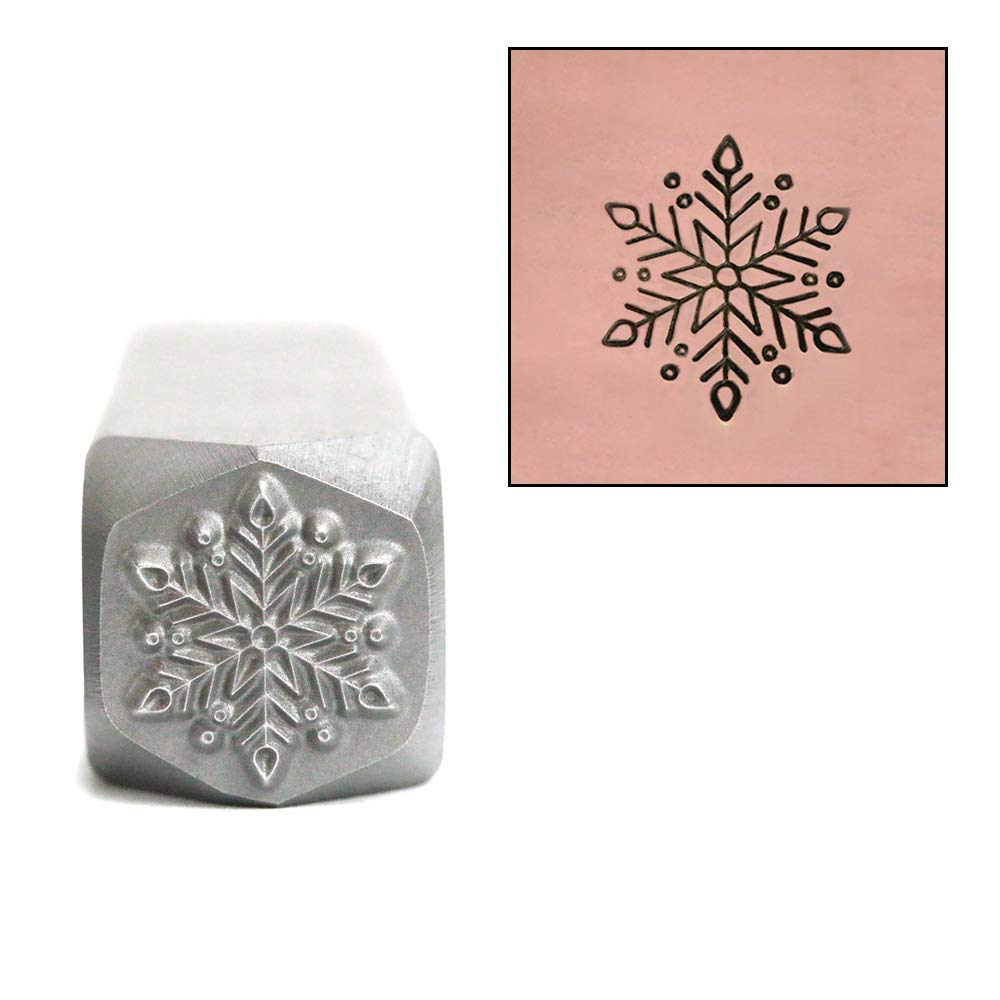 Metal Stamp Classic Snowflake 10mm - Beaducation Original