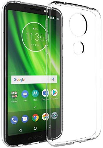 Capa Flexivel + Pelicula De Vidro Moto G6 Play Xt1922 tela 5.7 - Fse Acessórios