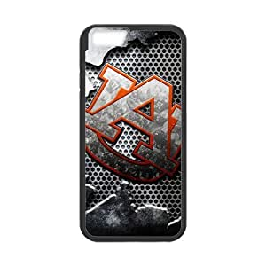 lintao diy Generic Custom Design NCAA Auburn Tigers Auburn University Athletic Teams Logo Plastic and TPU (Laser Technology) Case Cover for iPhone6