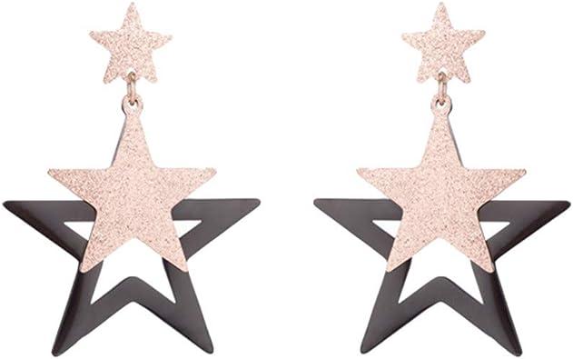 Argent Sterling 925 Boucles d/'oreille or Rose Femmes Oreille Clous Trèfle Bijoux Cadeaux