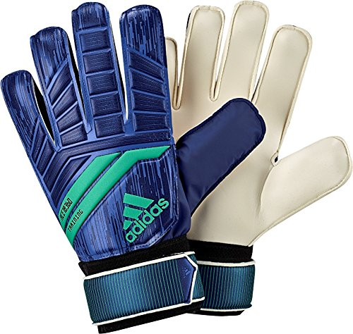 adidas ACE Training Goalie Gloves, Medium Blue, Size 8