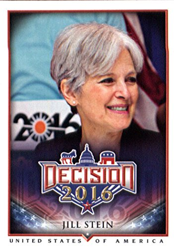 Decision 2016 #10 Jill Stein Politics Trading Card for sale  Delivered anywhere in USA