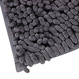 Bathroom Shower Rugs,1pc Owill® Soft Shaggy Non Slip Absorbent Bath Mat Bathroom Shower Rugs Carpet 15.8x24