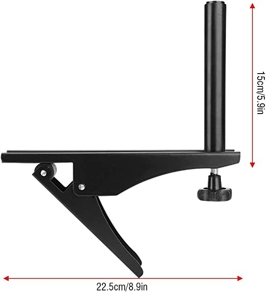 Nancunhuo Set de Fixation for Filet de Tennis de Table Pince en m/étal for Support de Table de ping-Pong Portable