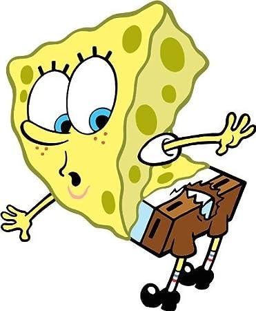 Amazon.com: Spongebob Squarepants Cartoon Car Bumper ...