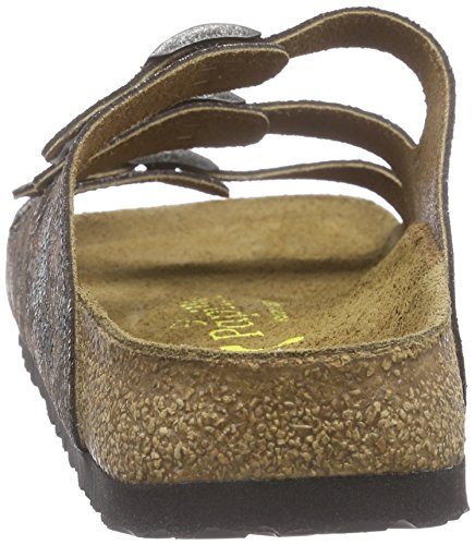 Papillio Florida Leder, Women's Mules Multicolour (Leopardo Antique)