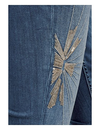 Femme Mid 11334 Blue Slim Bleu Street Jean Wash Fancy One qfpxZ