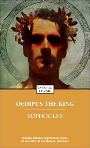 an analysis of the traits of oedipus in oedipus rex by sophocles Oedipus: oedipus is the central figure and tragic hero of sophocles' play though he is initially the majestic king of thebes, he soon becomes a dejected man, humbled by his horrible fate as the oracle predicts, oedipus kills his father and sleeps with his mother.