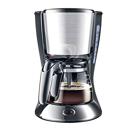 WY-coffee maker Máquina de café cafetera Totalmente automática antigoteo casa pequeña 700W, 600ML