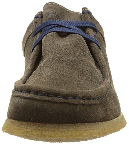 Sioux Grashopper-H-141 - mocasines de cuero hombre gris - Grau (alpaca)