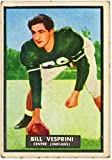 img - for Bill Vesprini (Dartmouth College) 1951 Topps Magic College Football Trading Card #40 book / textbook / text book