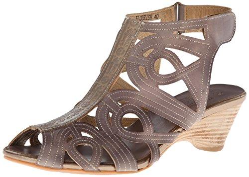 GLADIATOR Gray Flourish Women's Step Sandal L'artiste Spring nwqHSF7WT