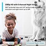 TP-Link-Tapo-PanTilt-Smart-Security-Camera-Indoor-CCTV-360-Rotational-View-Works-with-Alexa-Google-Home-No-Hub-Required-1080p-2-Way-Audio-Night-Vision-SD-Storage-Free-Tapo-App-Tapo-C200