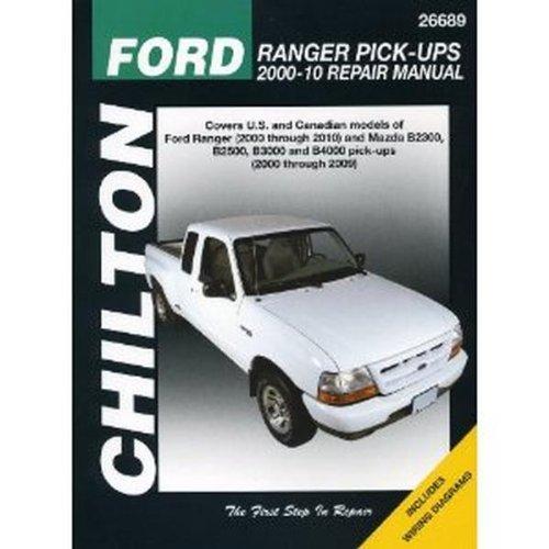 Chilton Repair Manual for Ford Ranger Pick-Ups 2000-'11 (26689)