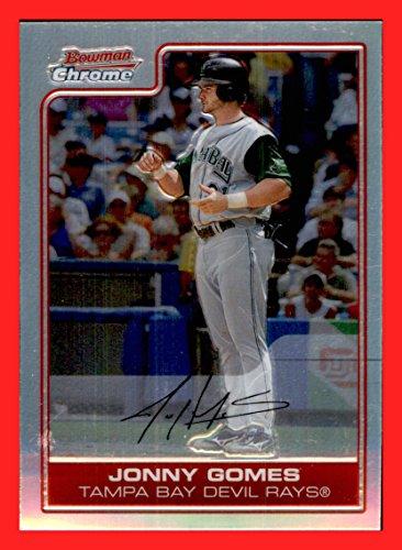 2006 Bowman Chrome REFRACTOR #47 Jonny Gomes TAMPA BAY DEVIL