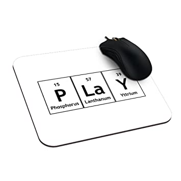 Amazon dreameroom chemistry elements periodic table words make dreameroom chemistry elements periodic table words make a mousepad chemistry atomic number elements symbols ergonomic mousepad urtaz