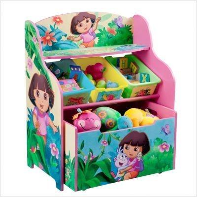 Nickelodeon's Dora the Explorer 10th Anniversary 3 Tier Organizer and Toy Box