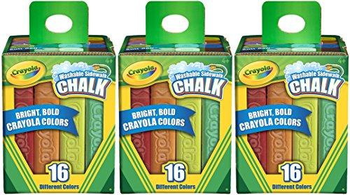 Crayola Washable Sidewalk Chalk Count