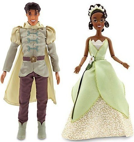 Disney The Princess and the Frog Prince Naveen Doll and