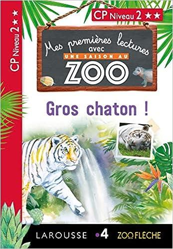 Amazon Fr Premieres Lectures Une Saison Au Zoo Gros Chaton