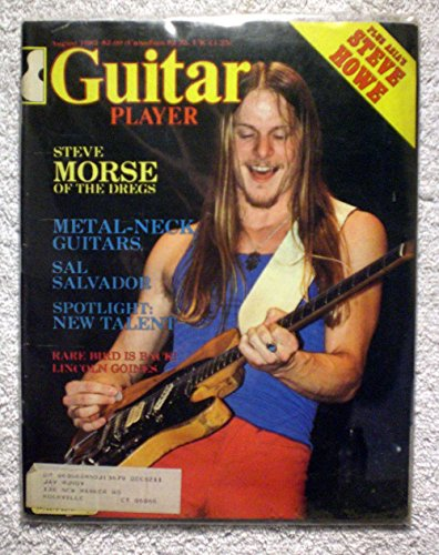 Steve Morse - The Dregs - Guitar Player Magazine - August 1982