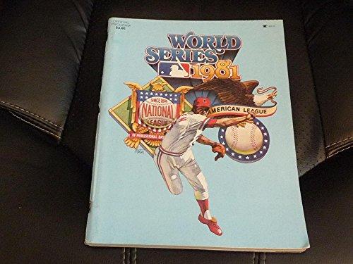 1981 World Series - 1981 LOS ANGELES DODGERS EDITION WORLD SERIES PROGRAM VS YANKEES