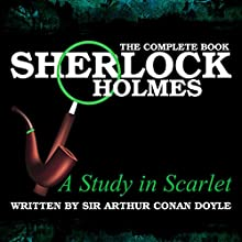 A Study in Scarlet Audiobook by Sir Arthur Conan Doyle Narrated by R. Brooks
