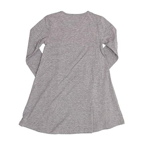 Vest Courte Desigual Gris Robe Clair Baton Fille 18wgvk42 tgxnHPvwq4