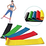 Resistance Bands - Scott Malone Resistance Loop Bands - Set of 5, Workout Bands - Best for Stretching, Physical Therapy and Home Fitness