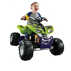 Power Wheels Fisher-Price Nickelodeon Teenage Mutant Ninja Turtles Kawasaki KFX
