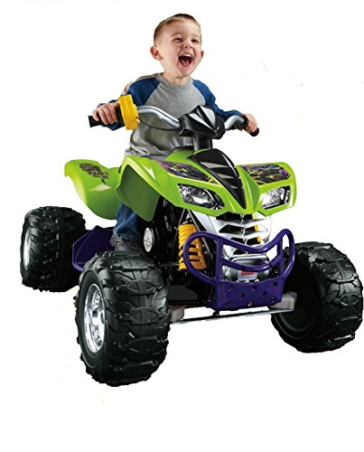 Fisher-Price Power Wheels Nickelodeon Teenage Mutant Ninja Turtles Kawasaki KFX