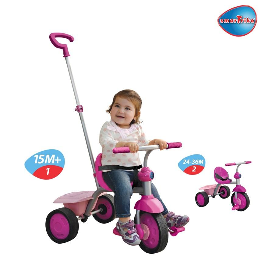 Smartrike 2 In 1 Fun Pink Amazon Co Uk Toys Amp Games