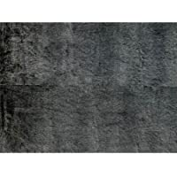 Loloi Rugs Finley Collection Area Rug, 20 by 30, Black/Charcoal