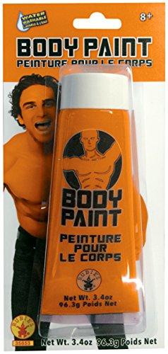 Rubie's Men's Body Paint, Orange, One Size ()
