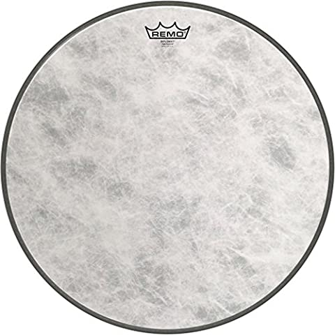 Remo FD-1518-00 18-Inch Fiberskyn 3 Diplomat Bass Drum Head (Remo Diplomat Snare Side Head)