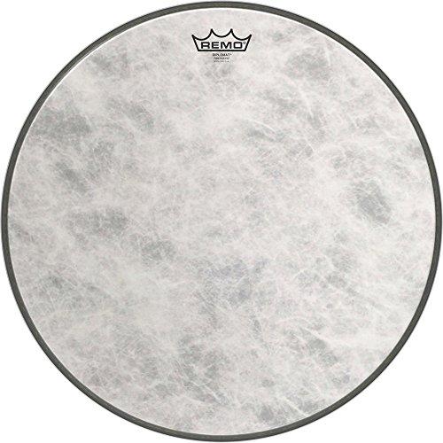 - Remo FD-1518-00 18-Inch Fiberskyn 3 Diplomat Bass Drum Head
