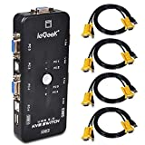 Best KVM Switches - ieGeek USB KVM Switch Box + VGA USB Review