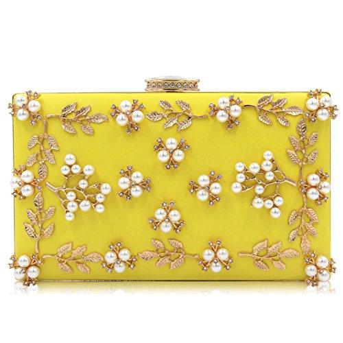 Clutches Evening Female TuTu Bags Bag Fashion Purses Clutch Beaded Women Wedding Rw4qz57