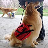 sxbest 1 Pack Large Dog Bag Saddle Backpack for Outdoor Hiking Camping Training travling Pet Carrier Product Snack Bag