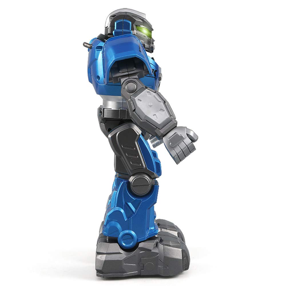 Gbell JJRC R5 Interactive RC Smart Robot with Walking Singing Dancing Auto-Follow Gesture Sensor Robot Toys with Two Control Modes Gifts for Kids Boys Girls (Blue) by Gbell (Image #7)