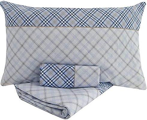 KUTEX - Juego de sábanas para Cama de Matrimonio, 100% algodón ...