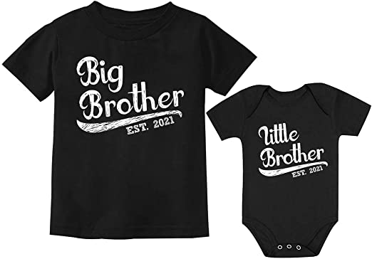 matching big brother  little brother set though MDNO-004-set too for sisters Big brother shirt little brother shirt-DINOSAUR