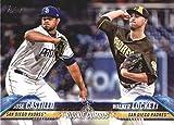 2018 MLB Topps Update US169 Jose Castillo/Walker Lockett RC Rookie San Diego Padres Official Baseball Trading Card