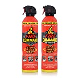 Fire Command Fire Extinguishing Foam Spray Fire Suppressant, 16 oz - Pack of 2